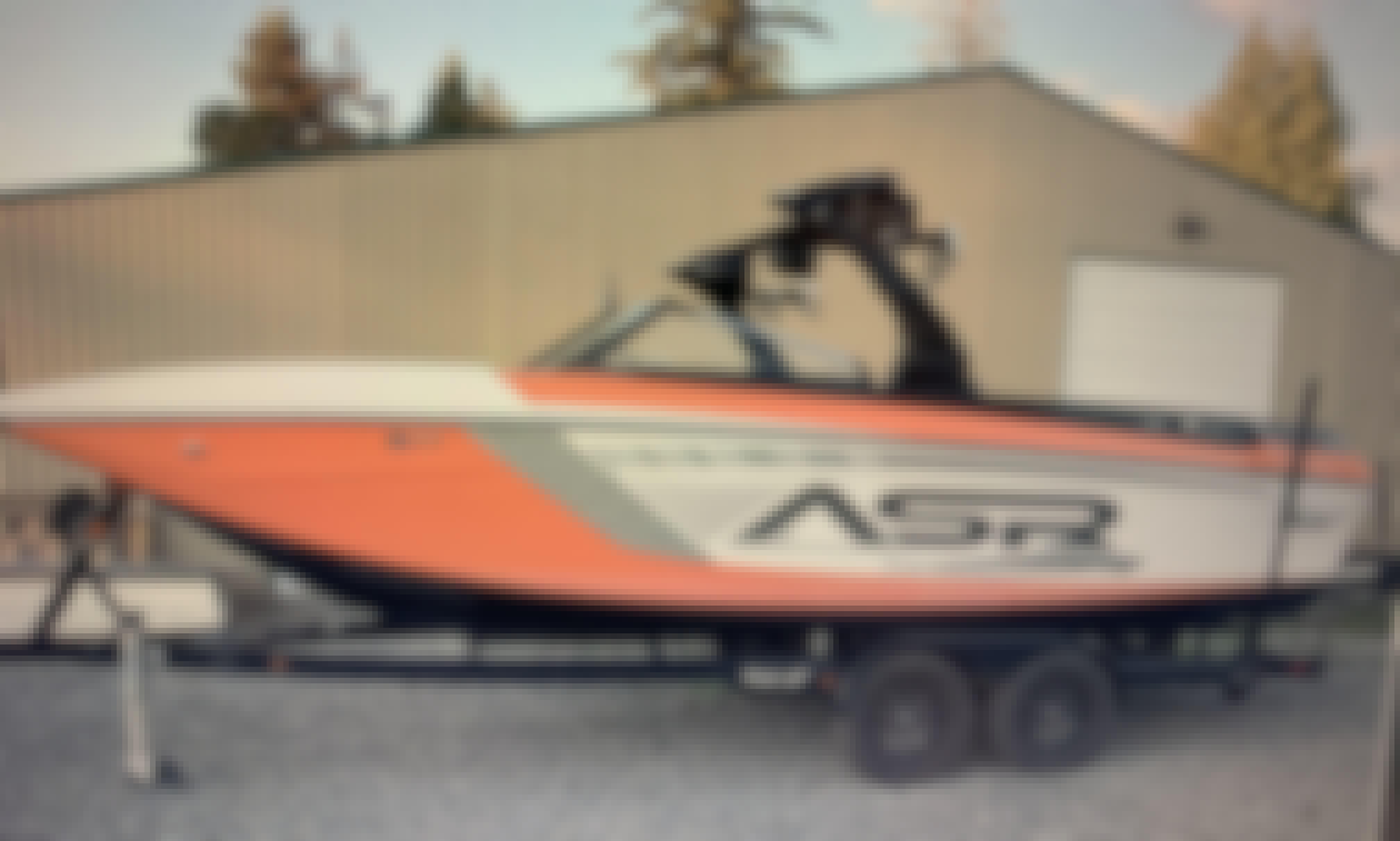 12 Person Wake Boat Rental in West Kelowna, BC