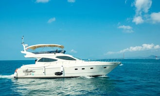63F Yacht rental in Sanya