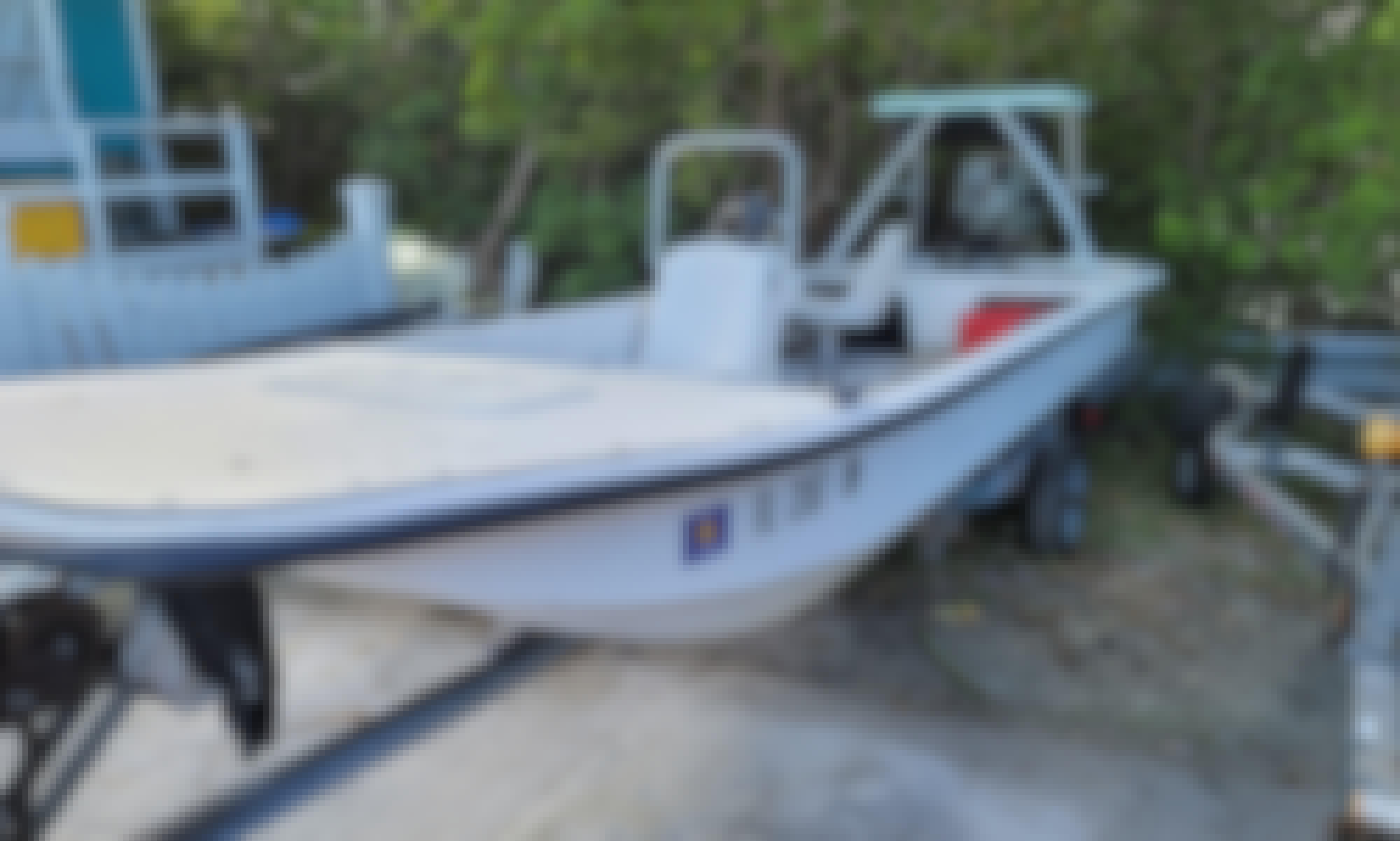 Carolina Skiff 15' Fishing Boat in Stock Island