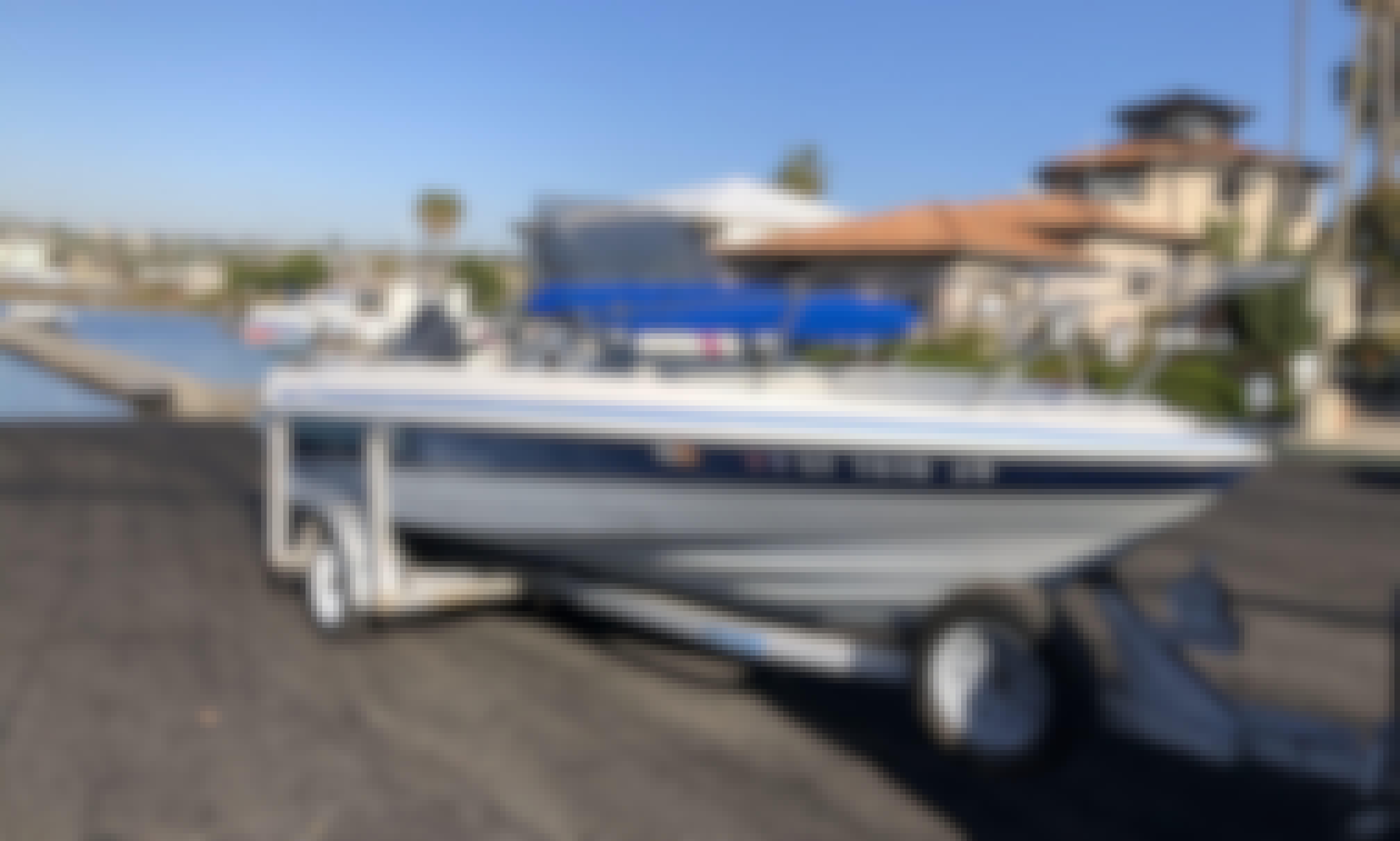 19' Bayliner Trophy Boat for Fishing, Harbor or Ocean Trips for 7