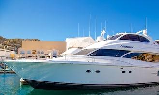 Luxury 80' Mega Yacht for Charter in Cabo San Lucas, Baja California Sur