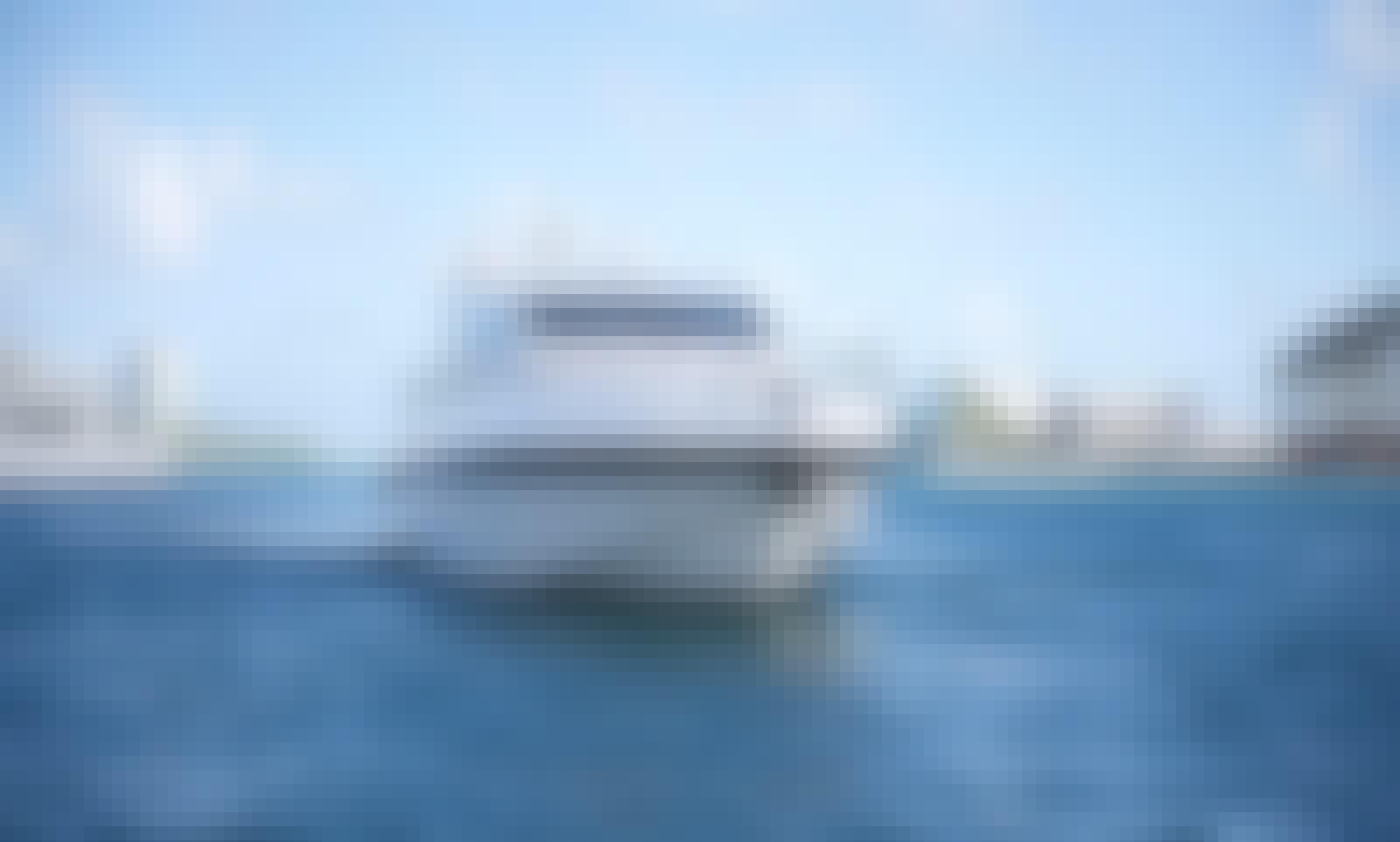 72' Magnificent Mangusta Luxury Yacht in Miami