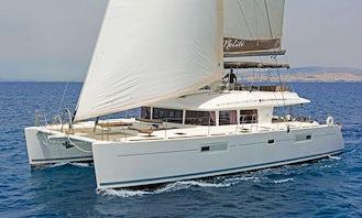 Crewed Charter on S/CAT Meliti Lagoon 560 Cruising Catamaran in Alimos, Greece