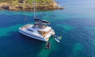 Crewed Charter on S/CAT Babalu Cruising Catamaran in Alimos, Greece