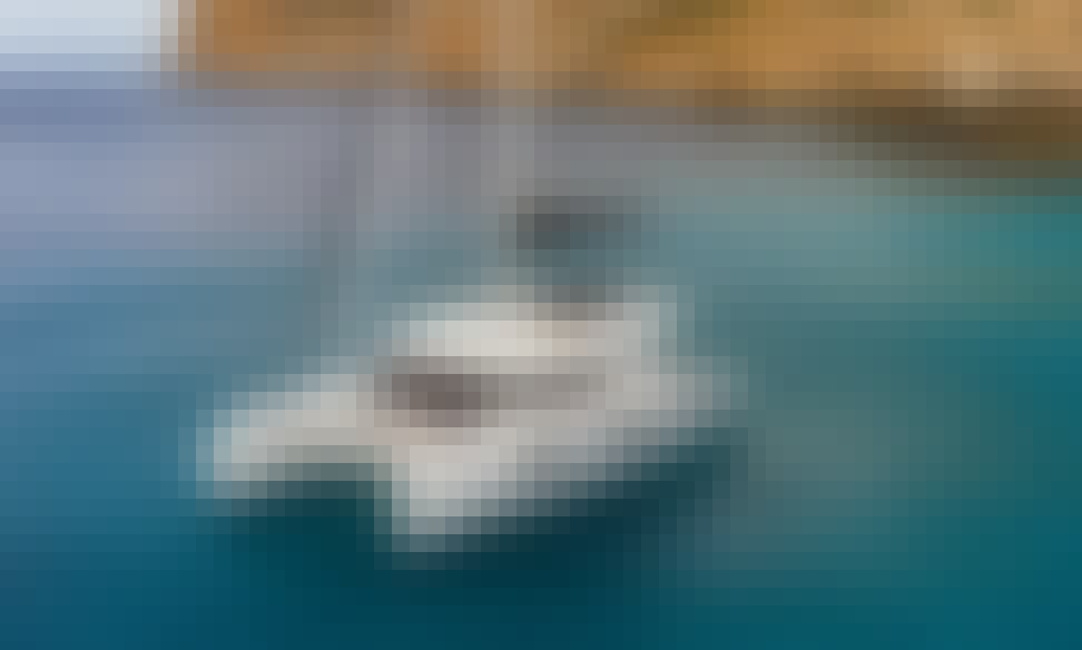 "Crewed Charter on ""Happy Feet"" Lagoon 50 Sailing Catamaran in Alimos, Greece"