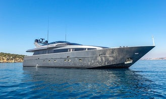 Crewed Charter on Summer Fun Power Mega Yacht in Alimos, Greece