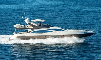Crewed Charter on Medusa Azimut 68 Power Mega Yacht in Alimos, Greece