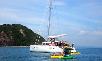 Overnight Sailing Holiday on board a Lagoon 400 sailing catamaran in Singapore