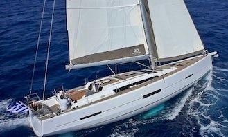 Crewed Charter on S/Y Drunken Sailor Dufour 560 in Alimos, Greece