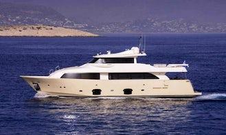 Crewed Charter on M/Y DANA Power Mega Yacht in Alimos, Greece