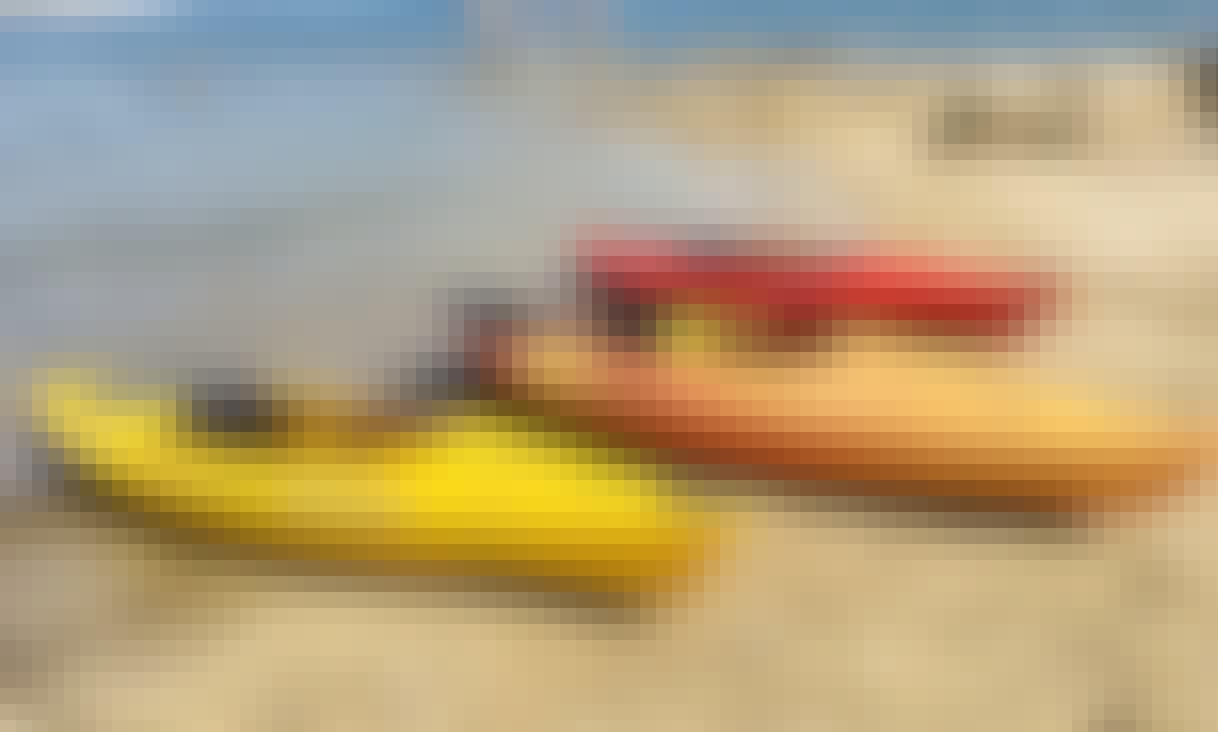 Kayak Rentals for Folsom Lake, Lake Natoma and Surrounding Areas