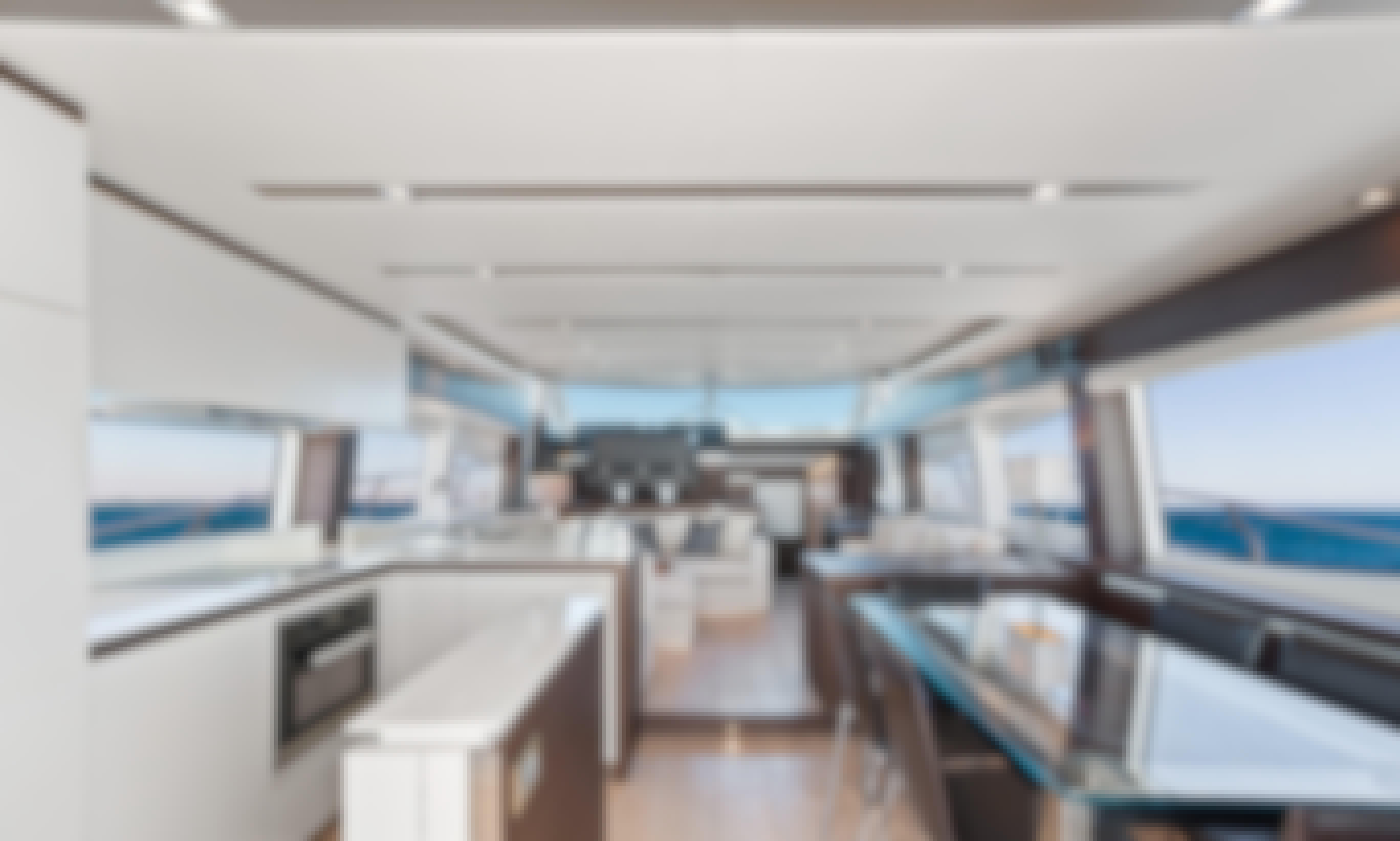 Clean & Elegant – 75′ Prestige For Charter in Aventura