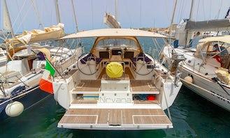 Dufour 500 GL Sailing Yacht Rental in Marsala, Sicilia