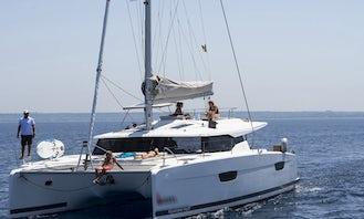 Saona 47  Sailing Catamaran Rental in Marsala, Sicilia