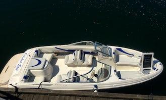 Maxum 20' Deck Boat for Rent Deep Cove, North Vancouver