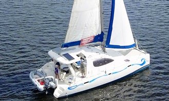 Leopard 40 Cruising Catamaran for Up to 6 People in Stuart, FL with Captain Paul