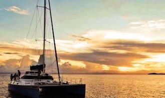 Amazing 10 People Sailing Catamaran in Siargao