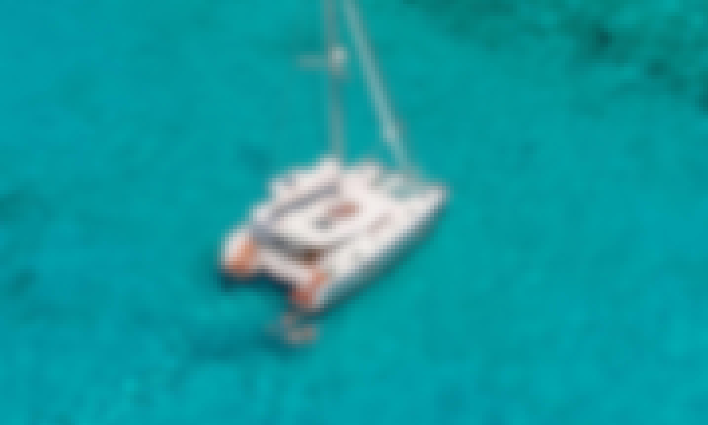 """Nadir"" Lagoon 42 Cruising Catamaran Rental in Trapani, Sicilia"