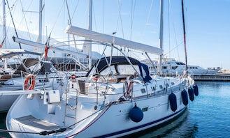"""""""Ninfea"""" Oceanis Clipper 523 Sailing Yacht Rental in Castellammare di Stabia, Campania"""
