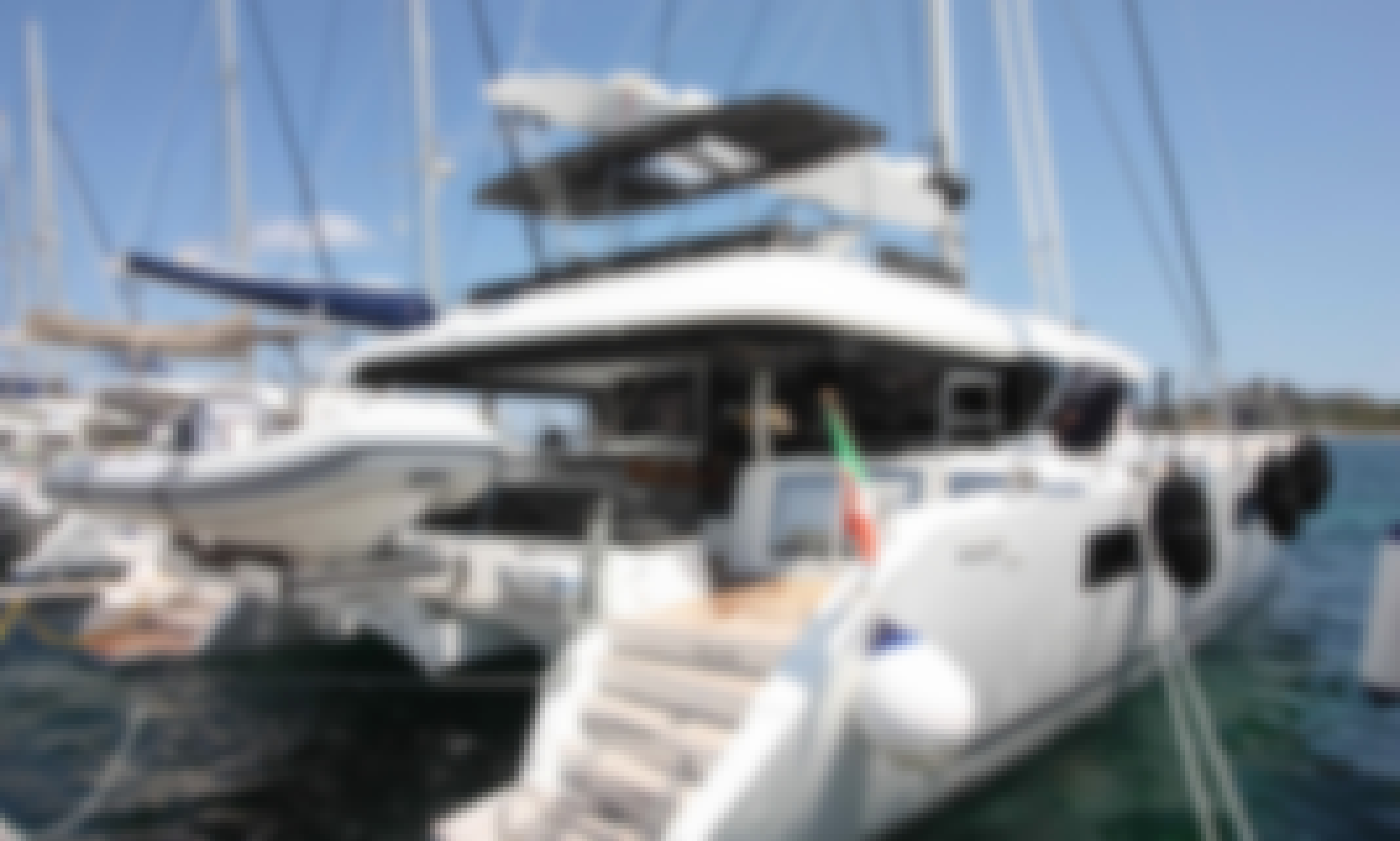 Charter the 2020 Lagoon 620 Catamaran to see fascinating places in Sardinia!