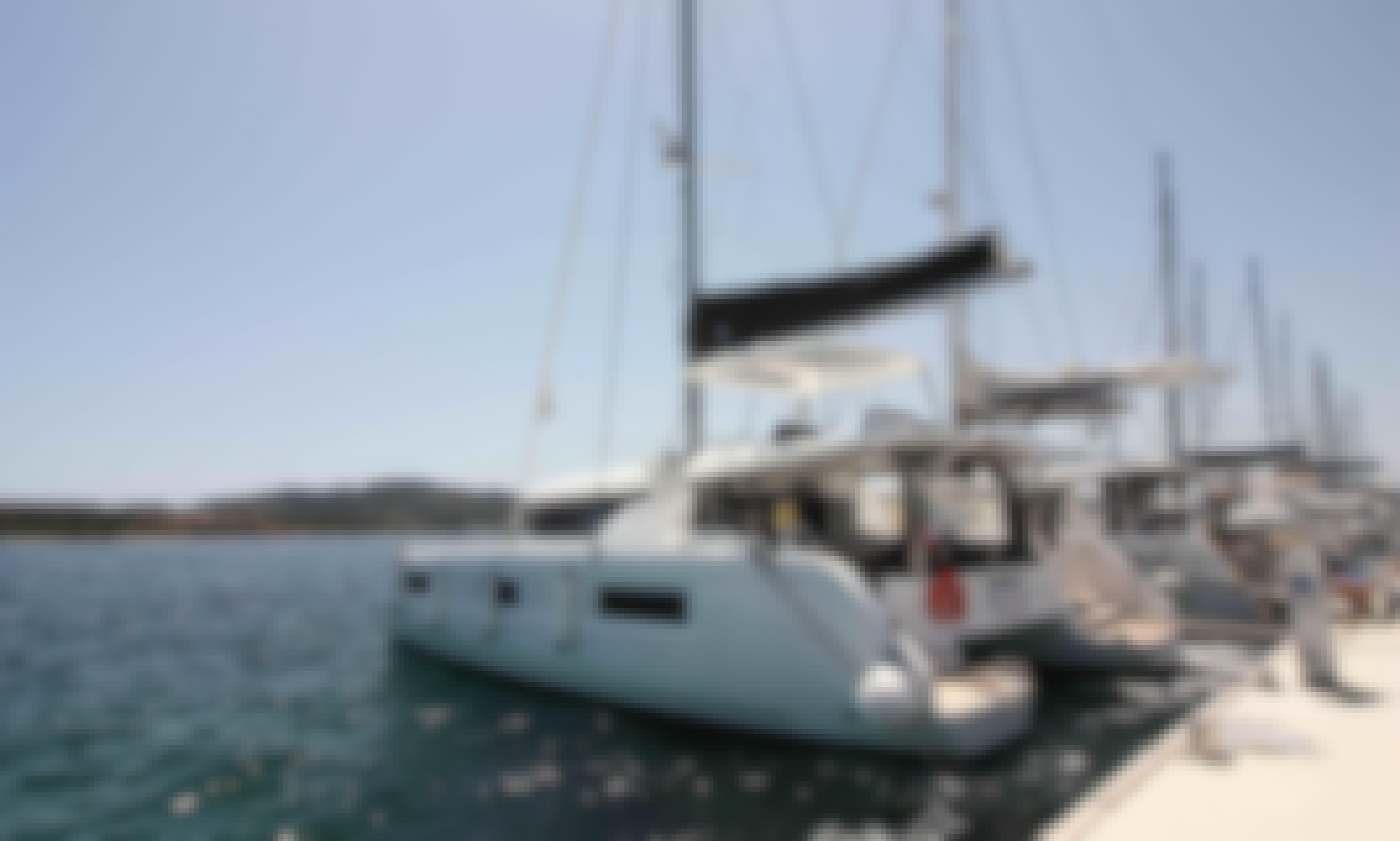 The best way to enjoy a holiday! Charter a  Lagoon 46 Cruising Catamaran in Olbia, Sardinia!