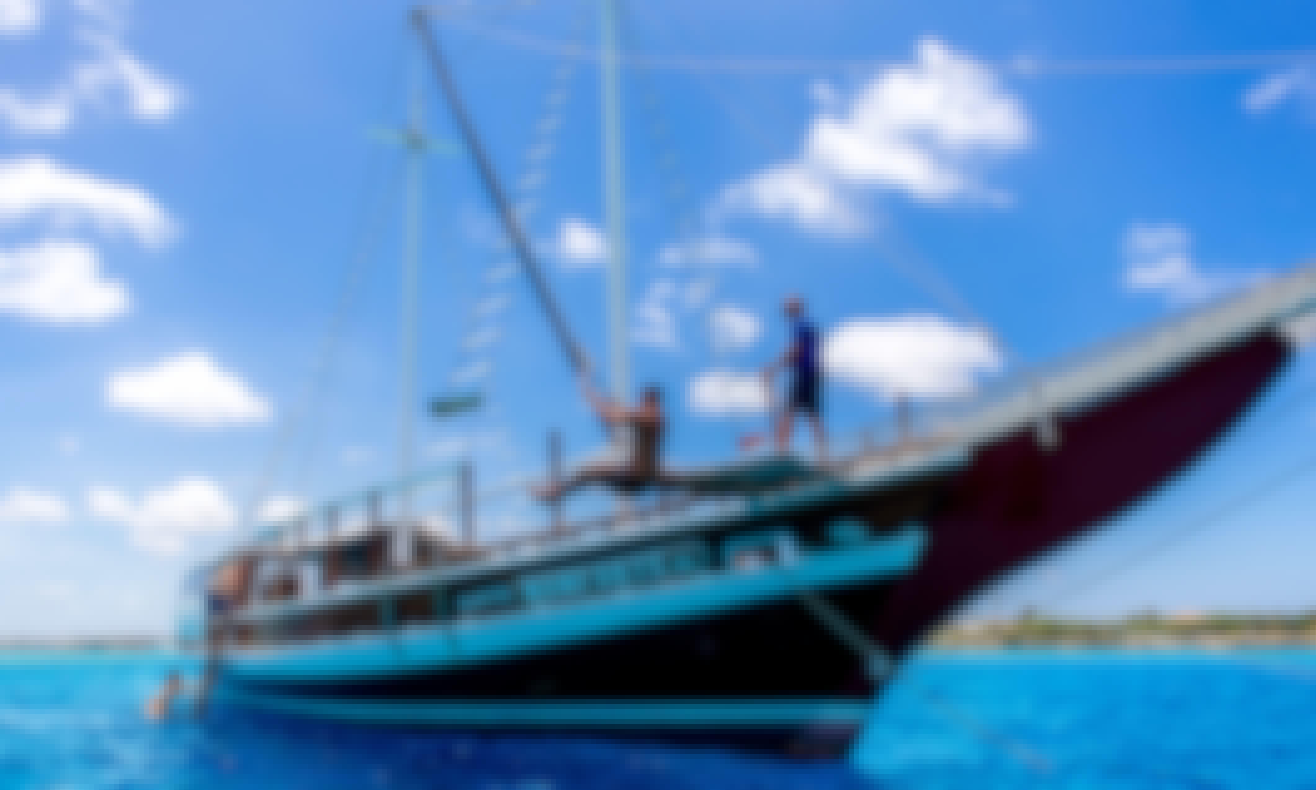 115' Cruising Luxury Schooner Charter in Noord, Aruba