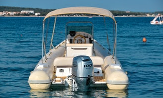 RIB Speedboat Rental In camp Stupice - Premantura / Medulin / Croatia