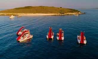 Formula pedalboats in Arena campsite Stupice, Premantura, Medulin Riviera!