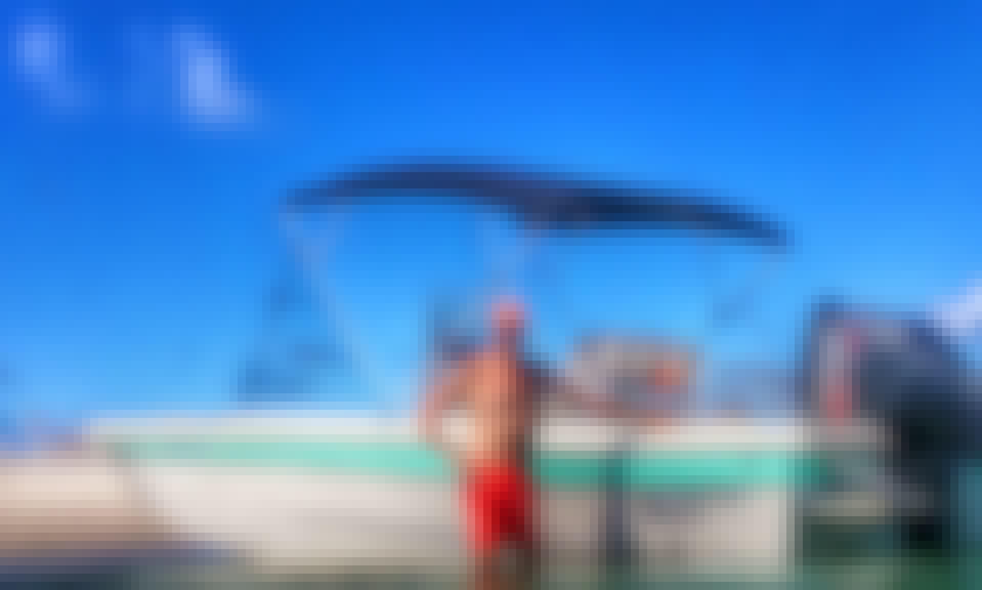 "On the ""Outside"" Tour in Atlantic Beach on 21' Elite Series Carolina Skiff with Captain Mark"