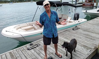 On the ''Outside'' Tour in Atlantic Beach on 21' Elite Series Carolina Skiff with Captain Mark