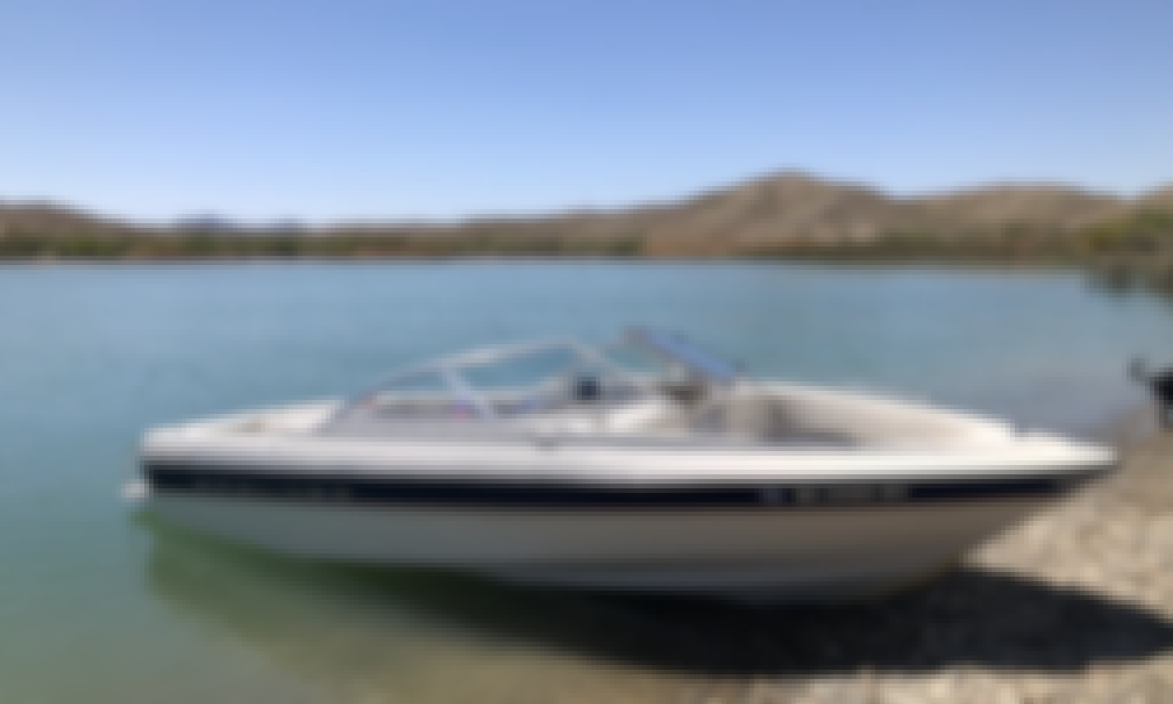 Power Boat in Lake Havasu