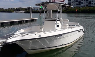 22' Center Console - Palm Harbor / Dunedin FL - Cruises, tours, dolphins, sunsets and more!