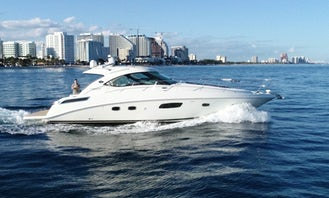 2013 47' Luxury Sea Ray for Charter in Fort Lauderdale