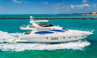 Enjoy A Luxurious Boating Experience In Miami Beach, Florida! Charter This 70' Azimut Yacht!
