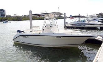 Rent Century 22' Center Console - Scenic and sunset tours, dolphin cruises, fishing and more!