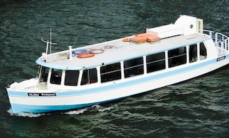 Holland 50' Boat Charter for Stag or Hen party at Budapest for 20 pax with drinks