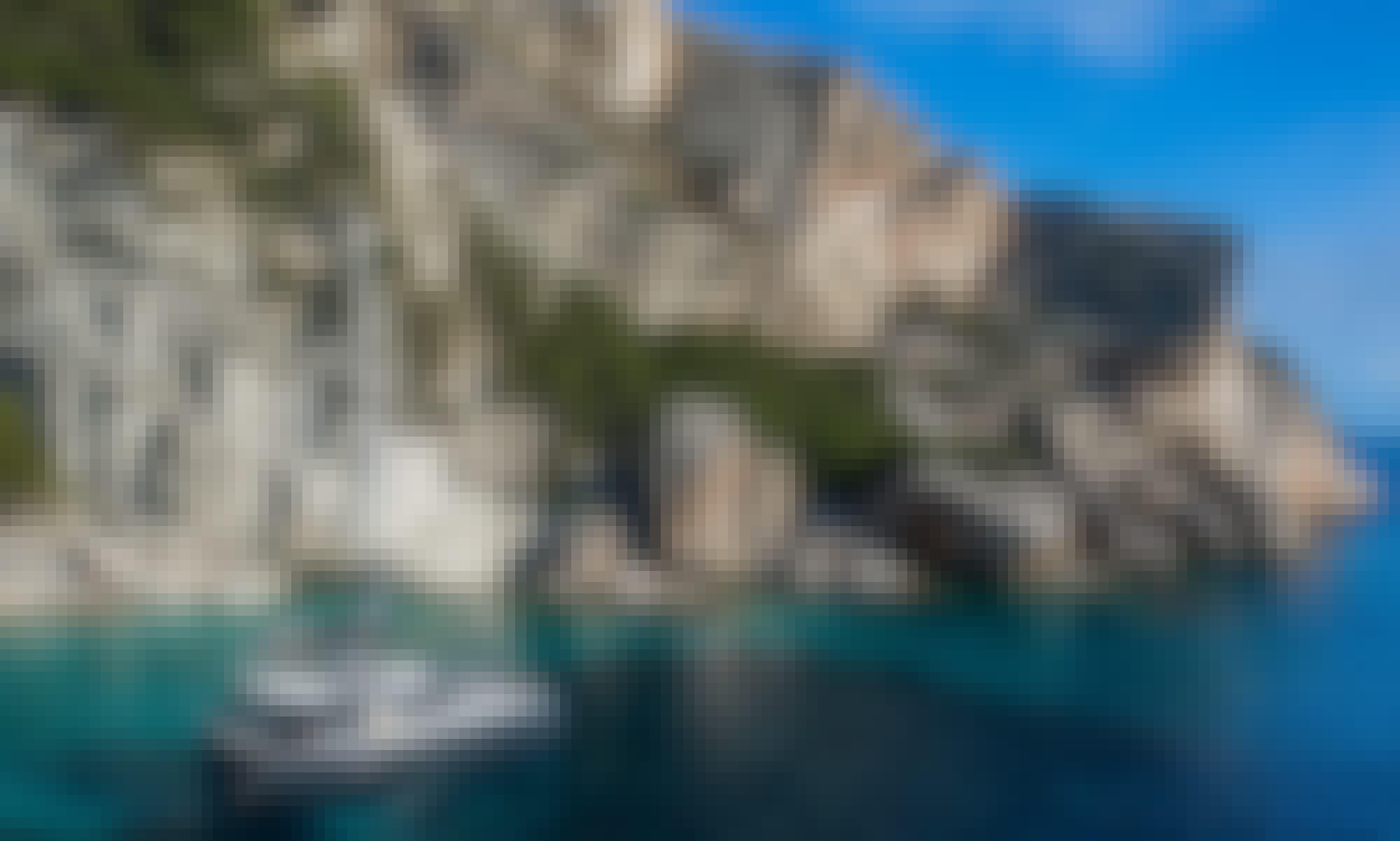 """Lagoon 42 """"Casta Diva"""" Luxury Sailing Catamaran in Lefkada"""