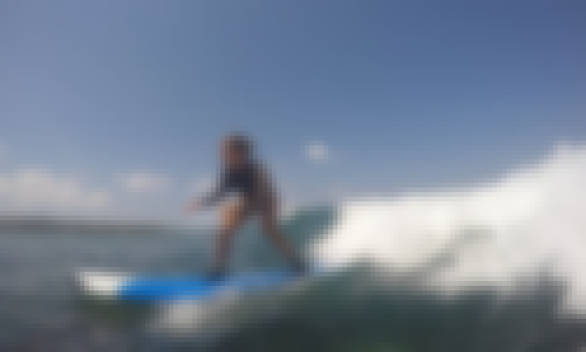 Beginner Surfing Lesson in Nusapenida, Bali
