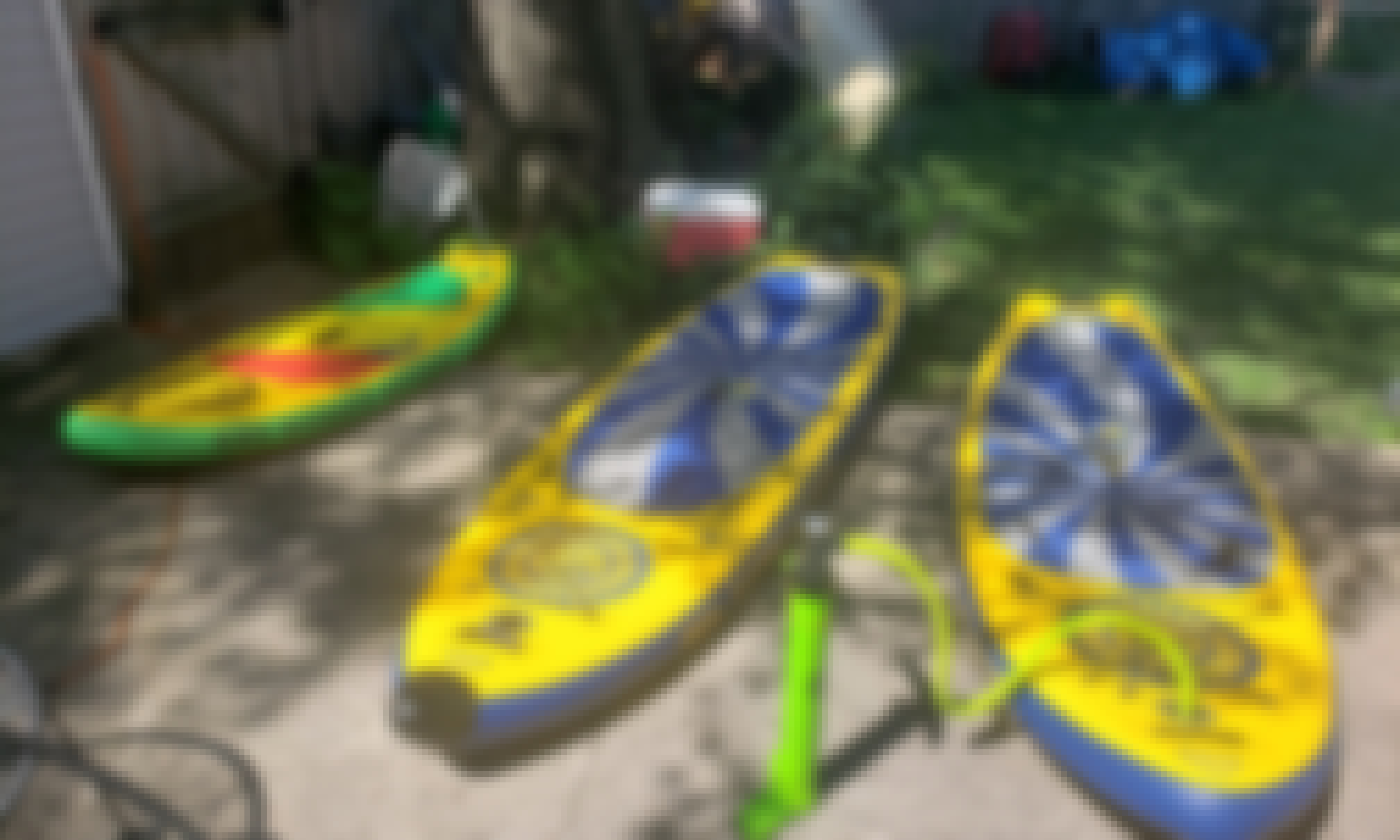 SolTrain and SolShine Stand Up Paddleboard Rental in Minneapolis