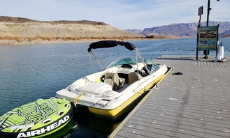 Sea Ray SPORT 18' BOAT + JET SKI -  Wake Surf and Pull Tube in Las Vegas
