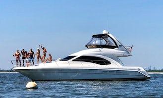 46' fully loaded Sea Ray Luxury Yacht. Brooklyn Bridge Location!