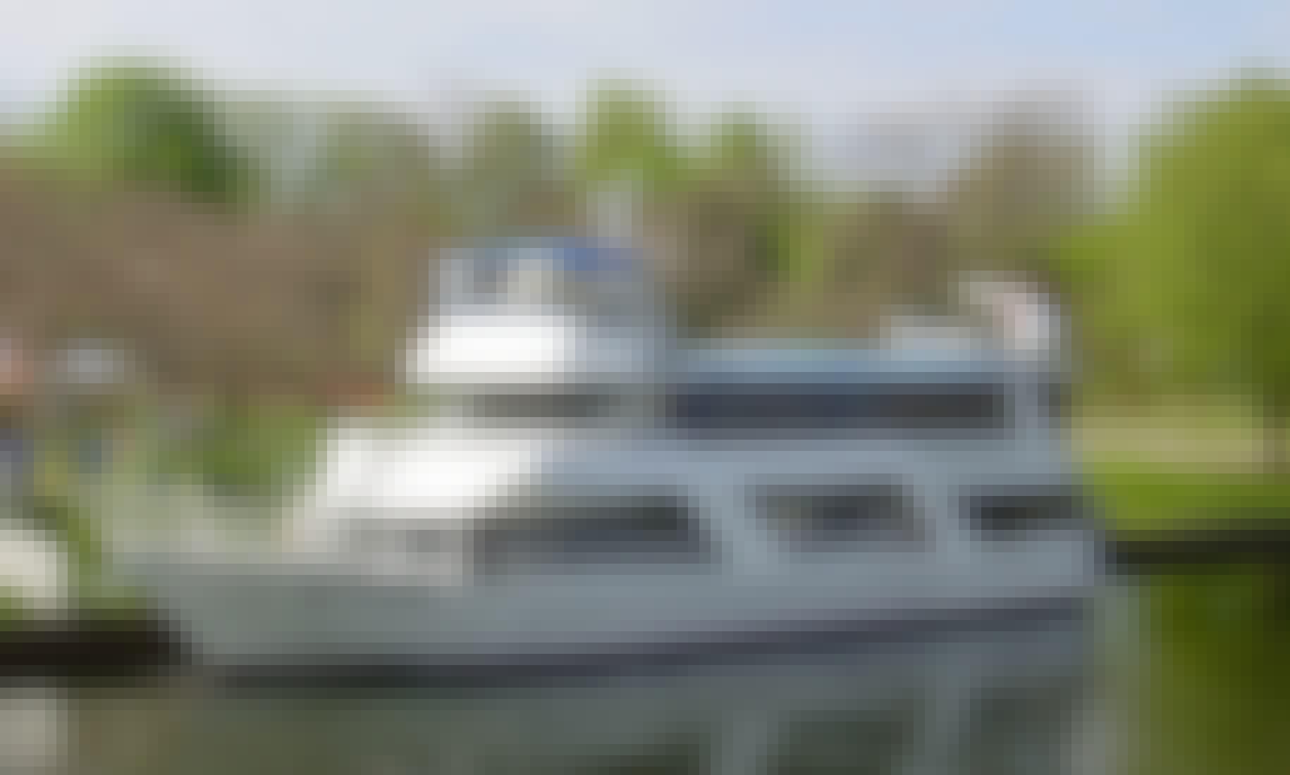 Beautiful 100 passenger motor yacht in downtown Toronto on Lake Ontario