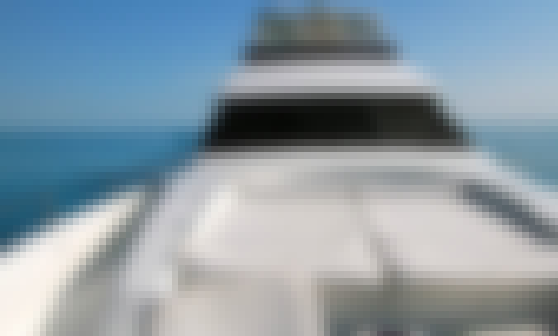 Mega Luxury Lazzara 76' VIP Yacht for Charter in Marina Del Rey