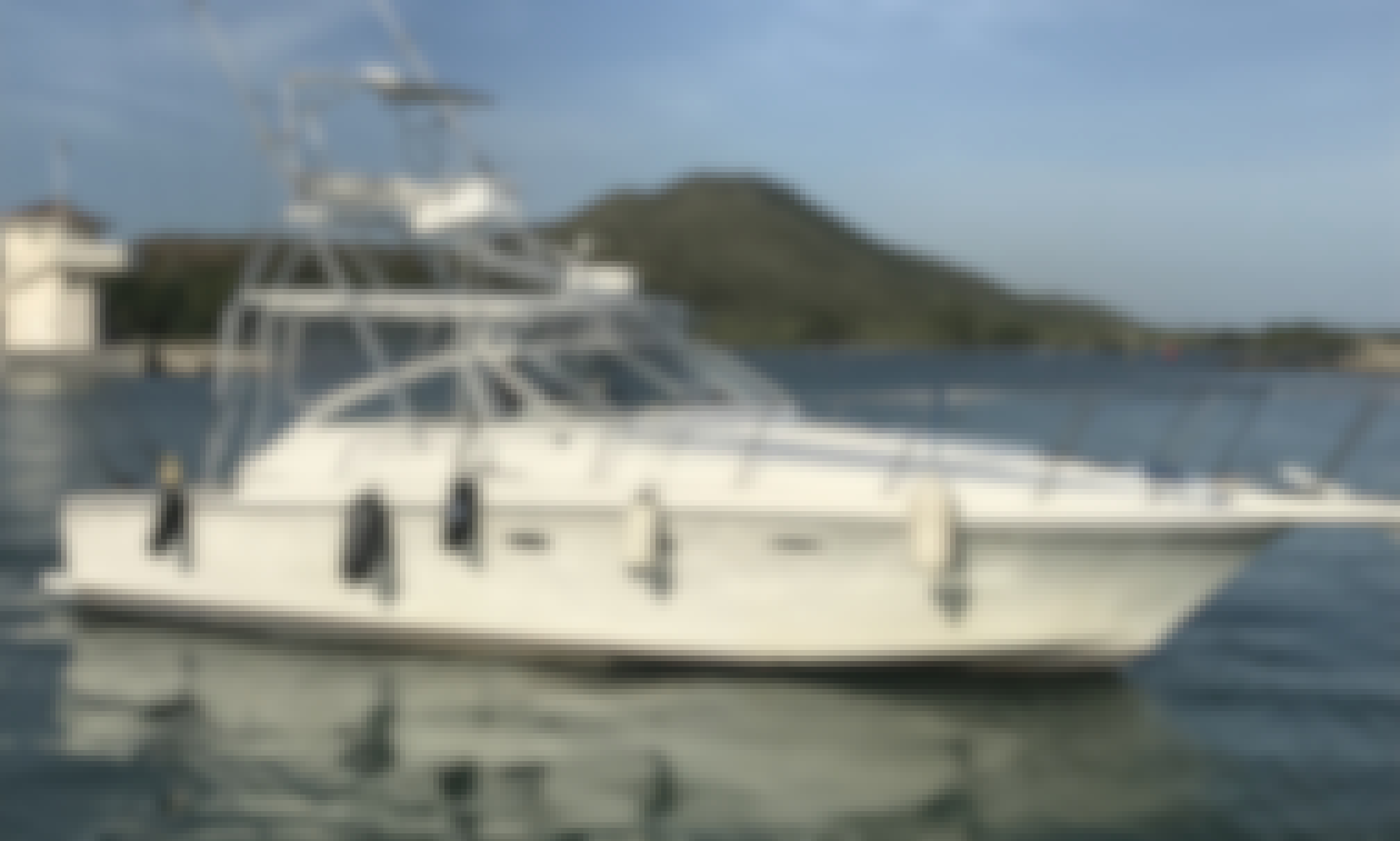 """Fishing Charter on 34ft """"Diana"""" Luxury Yacht in Puerto Plata, Dominican Republic"""
