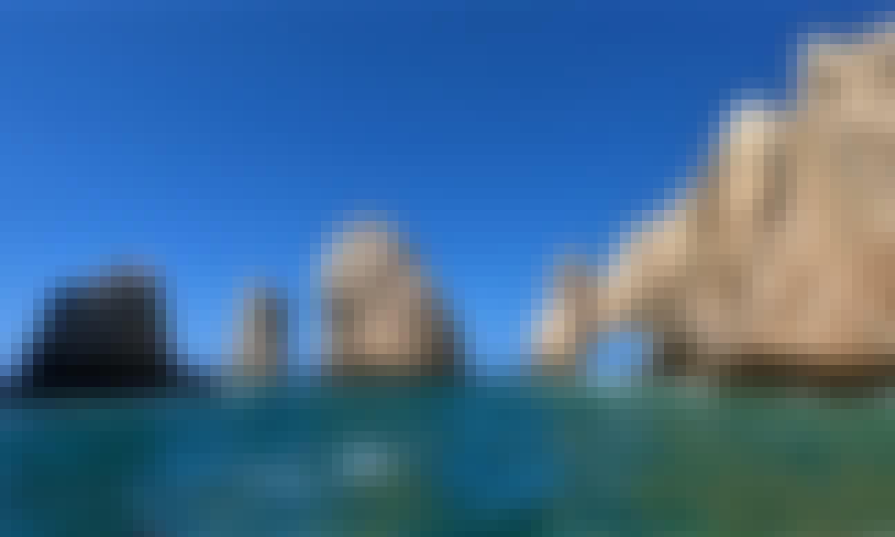 Book the Glass Bottom Boat Tour to The Arch in Cabo San Lucas!