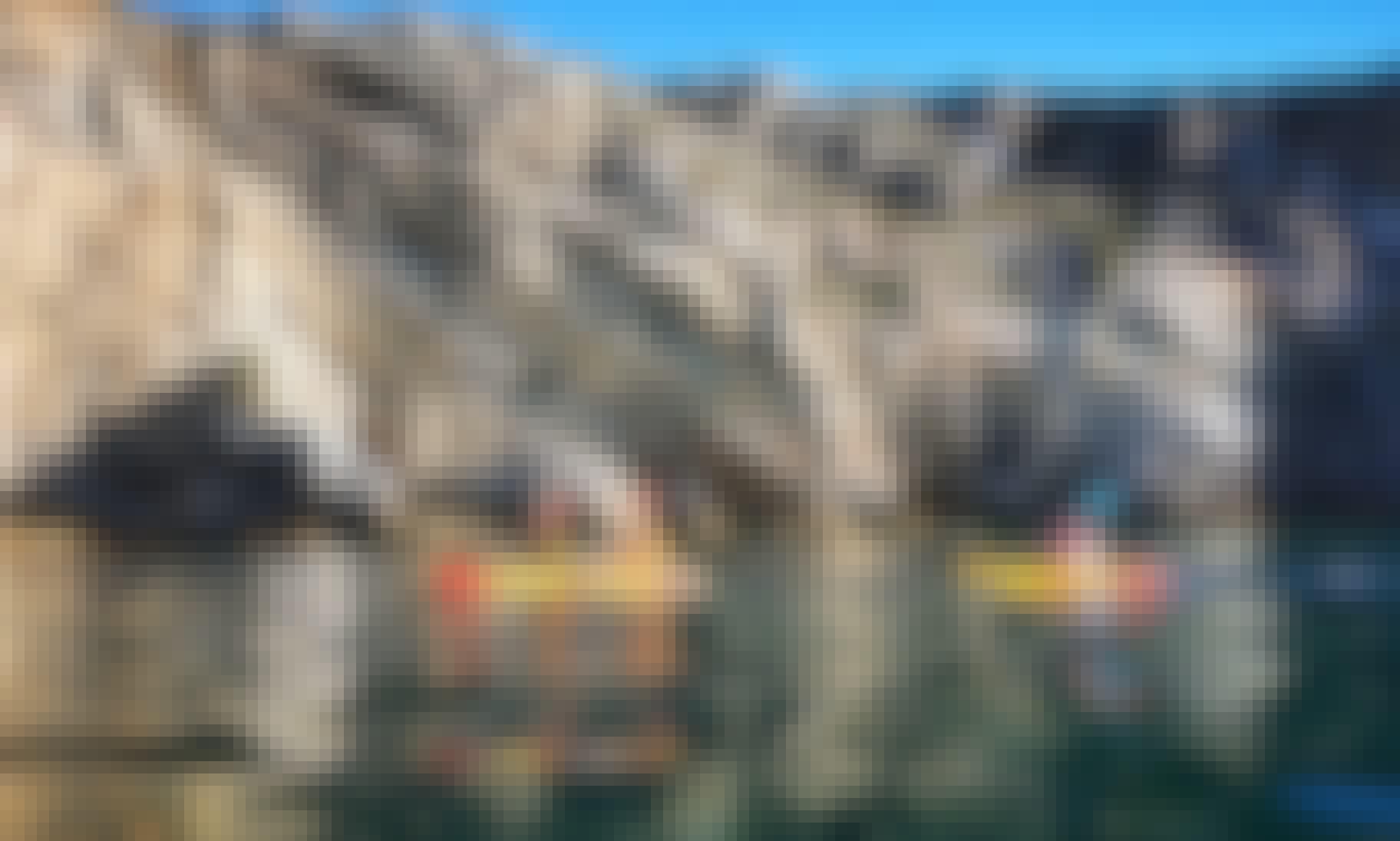 Kayak Adventure in Sesimbra - Ribeira do Cavalo Beach and Caves