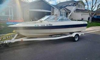 18ft Bayliner Ski Boat Rental in Denver, Colorado