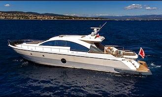 Aicon 72' SL Luxury Cruise in Barcelona