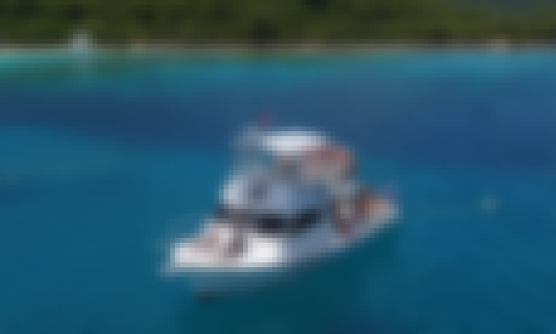 Custom Newton 36 Power Boat To Visit The Cordillera Cays (Icacos, Palominos, or Lobos)