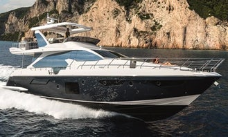 Azimut 64' Super Luxury Yacht for Charter in Marina Del Ray